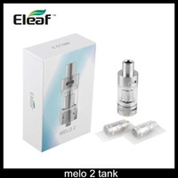 Wholesale Evic Clearomizer - istick Melo 2 Atomizer 4.5ml Melo 2 Sub Ohm Tank Airflow Adjustable Clearomizer Match iStick 60W eVic VTC Nebox VS Gs Air