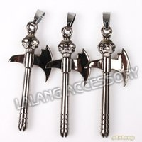 Fashion carving axe - New Arrival Carved Skull Style Axe Shape Alloy Charms Fit Halloween Jewelry DIY mm