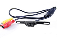 Wholesale Car Camera Usa - USA Car Rear View Camera High Definition IR Vehicle License Plate Backup Cam