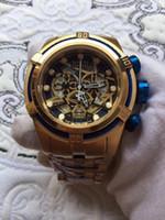 Wholesale Bolt Zeus - New Invicta Reserve Bolt Zeus High Polish Steel Chronograph 52mm MOP Watch