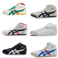 Wholesale Tiger Cotton Women - New Colors Asics Tiger Running Shoes For Women & Men Comfortable Zapatillas High-top Athletic Outdoor Sport Sneakers Eur 36-44 With Box