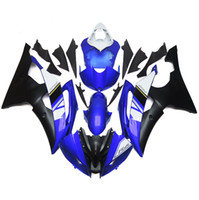 ingrosso yamaha r6 rivestimento di materie plastiche-Carene iniezione complete per Yamaha R6 08 09 10 11 12 13 14 15 Kit carenature moto in plastica ABS Carrozzeria Cappottatura Balck blu
