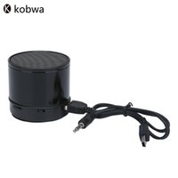 Wholesale free music player pc - Wholesale- Mini Wireless Bluetooth Speaker Hifi Stereo Portable With FM TF Card Mic Music Player Box For Mobile Phones PC MP3 Free Shipping