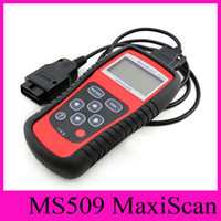 Wholesale obd scanner autel resale online - Spectrum Analyzers MaxiScan MS509 Autel Code Scanner OBD II OBD2 Fault Diagnosis Instrument Vehicle Detection Instrument Code Reader Car