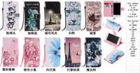 Wholesale Iphone Paris Wallet Cases - Paris Eiffel Tower Skull Leopard Wallet Leather For Iphone 7 Plus 6 6S Plus SE 5 5S Touch 6 5 Castle City Mouse Flip Cover Cartoon Pouch