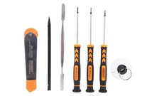 Wholesale Professional Iphone Screwdriver - New Jakemy JM-i82 7 in 1 Professional Mobile Phone Repair Tools Kit Screwdriver Set for Mobile Phone for iPhone WXSFT014 Free Shipping