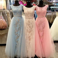 Wholesale Cheap Full Sleeve Evening Dresses - Modest Full Lace Sheath Formal Prom Occasion Dresses Real Image Jewel Neck Cap Sleeves 2016 Custom Made Plus Size Evening Event Wears Cheap