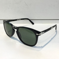 Wholesale unique mirror frames - Persol Sunglasses 714 Series Italian Designer Pliot Classic Style Glasses Unique Shape Top Quality UV400 Protection Can Be Folded Style