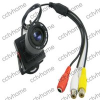 Wholesale Mini Zoom Cctv Camera - HD CMOS 1200TVL Mini 9-22mm Manual ZOOM CCTV Lens A V Security Surveillance Camera