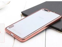 Wholesale xiaomi 4c case for sale - Group buy Electroplate Bling Soft TPU Case For Samsung Galaxy S9 PLUS Xiaomi MAX M4 Mi5 M5 S S Mi C Redmi Note Clear Phone skin Cover