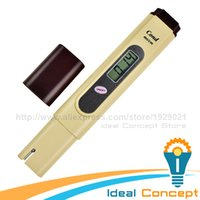 Wholesale EC Tester Electrical Conductivity Meter ms cm Aquarium Hydroponics Test Pentype Meter