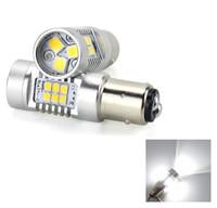 sinais de volta automáticos venda por atacado-21 W Hight Brilhante 1156 BAU15S BA15S 2835 SMD 21 DIODO EMISSOR de Luz Do Carro Auto Invertendo Lâmpada Turno Luzes de Nevoeiro Brake Turn Signal Light Bulb DC 12 V