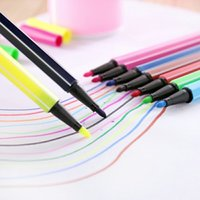 Wholesale Hot Colors Packing Drawing Pen for Children Kids Washable Environmental Painting Pen Gifts