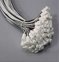 keramik kristall perlen großhandel-Kristalllampe Lampe Perlen Halogen G4 Glühbirne Keramikfassung Lampenfassung Stecker 100PCS