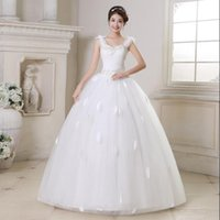 Wholesale Ship Images Large Size - Free Shipping New Maternity Wedding Dress For Pregnant High Waist Large Size Wedding Gowns Can Be Customized
