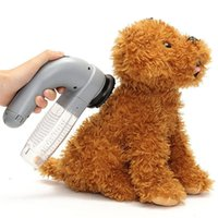 Wholesale Dog Cordless - Pet Hair Vacuum Removal Fur Suction Grooming Device Pets Dog Accessories Cordless Portable Pets Massage Vacuum Cleaner