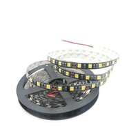 Wholesale tape designs - 5M New Design Black PCB 5050 SMD Led Strip Super Bright 60leds m No-Waterproof DC12V LED Tape Led Ribbion For Home