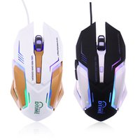 Wholesale Brand Computer Mouse - Wholesale- brand USB laptop Computer pc laptop notebook office Optical Wired Gaming mouse for DOTA2 World of tanks gamers LED Snigir Mice