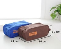Wholesale Pink Shoe Organizer - Hot Sale Portable Waterproof Makeup Pouch For Cosmetic Oxford Organizer Bags Storage Bag For Travel Shoe Hook 2016 Fashion