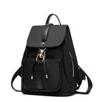 Wholesale Media Magazines - Travel backpack high grade oxford women leisure shoulders bag for A4 magazine, umbrella, cosmetics storage black, blue