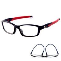 928c4cb3b2 Men Women Eyeglasses Frames Sports Eyewear Plain Glass Spectacle Frame  Silicone Optical Brand Eye Glasses Frame Lenses Men Sport