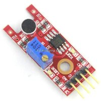 Wholesale Mini Sound Modules - Smart Electronics 5x KY-038 4pin Mini Voice Sound Detection Sensor Module Microphone Transmitter for Arduino DIY Robot Car KY038