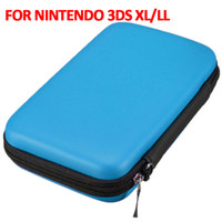 Wholesale Nintendo 3ds Xl Cases - Hot Sale EVA Skin Carry Hard Case Bag Pouch 3DS Screen Protector for Nintendo 3DS XL LL