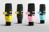 Wholesale small wholesale umbrellas - New Mini Pocket Umbrella, Women Sunny and Rainy Mini Fashion Folding Umbrellas, 195g Small Sun Parasol Umbrella Rain Women