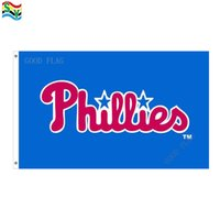 Wholesale Phillies Flag - GoodFlag Free Shipping phillies flags artwork flags banner 3X5 FT 90*150CM Polyster Outdoor Flag