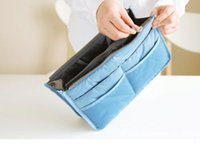 Wholesale Women Travel Insert Handbag Purse Large liner Tote Bags Organizer Bag Storage Bags Amazing make up bags