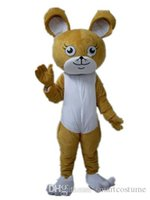 Wholesale Mouse Costume For Sale - SX0724 With one mini fan inside the head a brown mouse mascot costume for adult to wear for sale