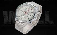 бесплатная поставка оптовых-Wholesale free shipping New CURREN  old Sliver Watch Clock Men Watches  Wristwatches