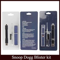 Snoop Dogg Dry Herb Vaporisateur Blister Pack Bleu Micro Pen VAPORIZER Herbal Kit Blister G Vape Pro vs stylo G par DHL