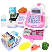 Wholesale Supermarket Cash Register Toy - Wholesale-New Arrival Children's Toy Supermarket Cash Register And Simulation House Version Of The Children's Role Play Furniture