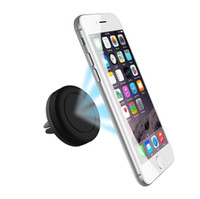 Wholesale magnets iphone resale online - HotCar Mount Air Vent Magnetic Universal Car Mount Phone Holder for iPhone s One Step Mounting Reinforced Magnet Easier Safer Driving