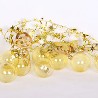 ingrosso palle hanging tree all'aperto-2M Christmas Balls Baubles outdoor decorazioni natalizie albero di natale Hanging balls decorazioni natalizie Decorazioni per matrimoni decorazioni per feste