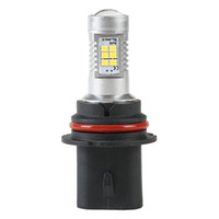 Wholesale Hid Led Car Fog - 2 pcs 9004 HB1 Car LED Headlight 12V 21W HID White 6500K High Power Low Beam Headlamp LED Bulb Anti Vibration Waterproof Universal