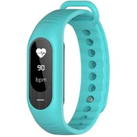 Wholesale Baby Monitors Led - Smart Watch LED Bracelet Baby Older Care Blood Pressure Heart Rate Sleep Monitor Health statistics Movement Step Calories Consumed Movement
