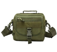Molle Tactics Nylon Messenger Bag Sac à bandoulière unique épaule militaire Sling Bag Vintage Camouflage Army Crossbody Bag