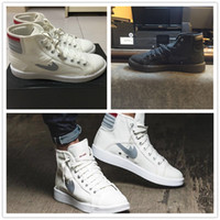 Wholesale Cheap Mens Casual Shoes Sale - 2016 Airs Flat Retro 1 SKY HIGH OG High Mens Women Fashion Shoes for Top quality Cheap Sale Basketball Casual Sport Sneakers Size 36-44