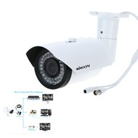 Wholesale Camera Cctv 42 Leds - KKMOON Super Quality HD 1200TVL CCTV Camera Outdoor Waterproof 2.8-12mm IR 42 LEDs Night Vision Bullet Home Security Camera