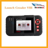 Wholesale Yamaha Service - Launch Creader VIII Code Reader Same Function as CRP129 Creader 8 ENG AT ABS SRS EPB SAS Oil Service Light resets