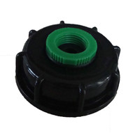 """Wholesale Garden Taps - 1000L IBC tank fitting garden hose 2"""" buttress female to 1 2"""" NPT female adaptor camlock tap green free shipping"""
