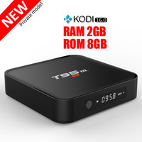 Wholesale Android Tv Box 2gb Ram - Amlogic S905X T95M Android TV Boxes fully loaded 2GB Ram 8GB Rom 2.4G WiFi Tronsmart supported Smart Media Player cheaper than T95