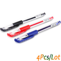 Wholesale stationery office supplies online - Classic mm Color Gel pen roller ball pens office student pen stationery school supplies