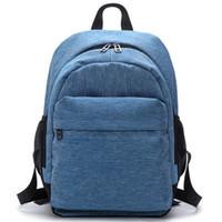 ingrosso mini notebook blu-2017 donne impermeabili tela zaini spalla borsa a tracolla borse scuola per le ragazze viaggi grigio blu borse per notebook rosso nero