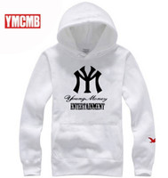 Wholesale Hoodies Ymcmb - free shipping 2017 us size ymcmb Mens Hip Hop Hoodies Fashion Sweatshirts high quality o-neck coat Clothes
