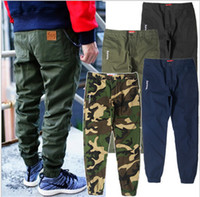 Men black camo cargo pants - New Fashion Brand Cargo Pants Camo Joggers Mens Calca Swag Pants Hiphop Chino Trousers Skateboard Streetwears