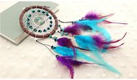Wholesale Turquoise Home - Turquoise Dreamcatcher Handmade Crafts Ornaments Home Decor Supplies