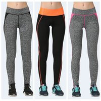 Pantalons sport à haute taille Tight Workout Body Sculpting Jogging Yoga Pants Fitness Exercices de séchage rapide Leggings Slim Fashion Lady LNSYL